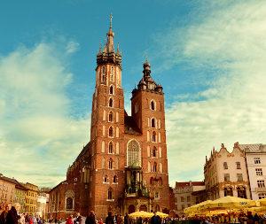 Marché de Noël à Cracovie